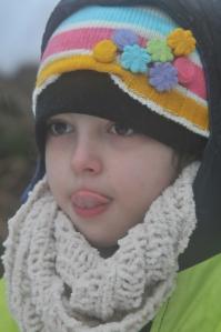 Minha bonequinha de neve...